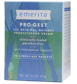 Emerita Progest Progesterone Single Use 48Pk